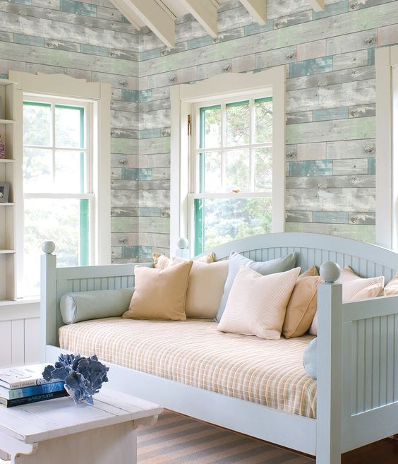 Bleached and Distressed Finished - Coastal Decor Design Trends to Follow when decorating your beach home or vacation rental in Panama City Beach, Florida