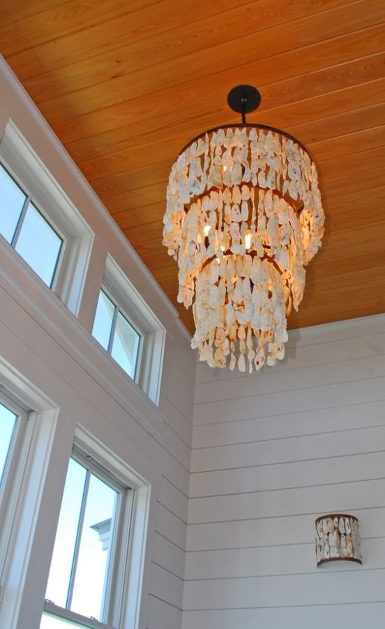 Statement Lighting - Coastal Decor Design Trends to Follow when decorating your beach home or vacation rental in Panama City Beach, Florida